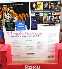 costco sale roku premier streaming player 84 99 frugal hotspot