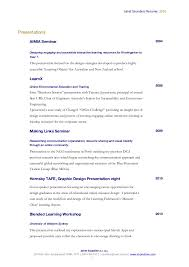 Graphic Design Resume Objective Examples by Janet Saunders Cv 2016