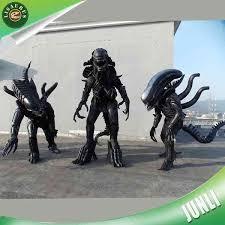 Super Deluxe Halloween Costumes Super Deluxe Alien Alien Halloween Cosplay Costume Predator