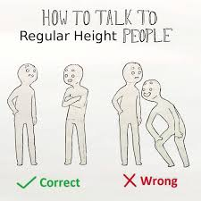 Short Memes - regular height how to talk to short people know your meme