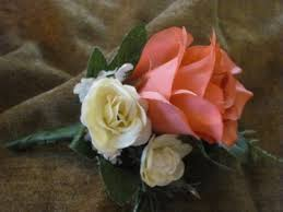 coral boutonniere dyed coral reef boutonniere 3181a