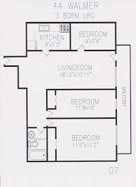 toronto floor plans 44 walmer road mercedes homes inc