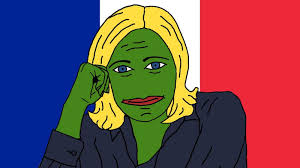 france u0027s alt right has turned pepe the frog into pepe le pen the