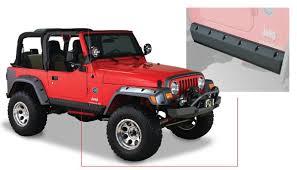 bushwacker trail armor for jeeps partcatalog com