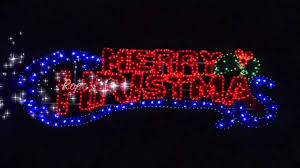 rope lights picture ideas light merry sign