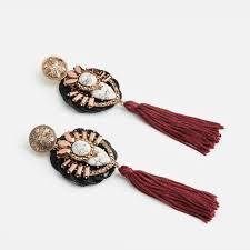 grande earrings rosegold grande earrings drop earrings bridal