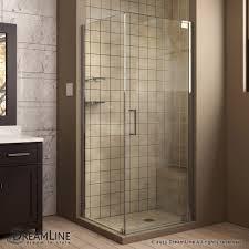 30 Shower Door Dreamline Showers Elegance Pivot Shower Enclosure