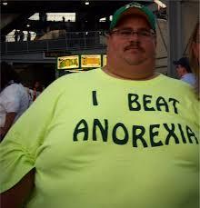 Anorexia Meme - i beat anorexia mad cow club meme