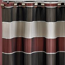 Shower Curtain Amazon Com Popular Home The Modern Line Collection Fabric Shower