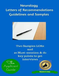 neurology letters of recommendations guidelines and samples by