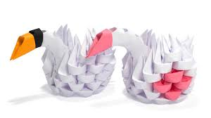 3d Origami Beginner Tutorial | 3d origami simple swan tutorial youtube