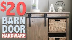 How To Install Barn Doors by 20 Diy Barn Door Hardware Shanty2chic Youtube