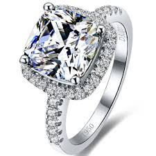Diamond Cushion Cut Ring Compare Prices On Diamonds Cushion Cut Online Shopping Buy Low