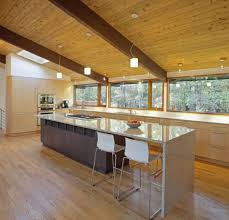 kitchen design exciting kitchen with peninsula and island long