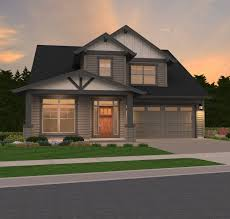 two storey custom home design corner lot rear g luxihome