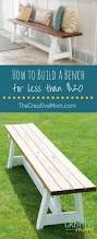 Wooden Bench Seat For Sale Best 25 Diy Bench Ideas On Pinterest Benches Wood Bench