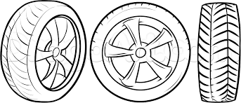 how to draw tires step by step cars draw cars online