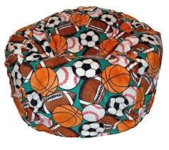 ahh products sports balls anti pill fleece washable large bean