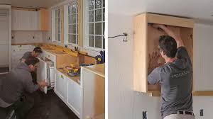 how to put filler on kitchen cabinets installing frameless cabinets homebuilding