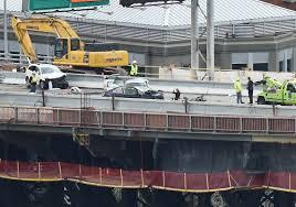 police wrong way driver causes crash on liberty bridge injuring