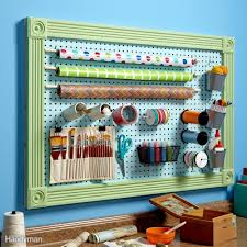organize anything with pegboards 11 ideas and tips family handyman