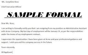resignation letters in doc resignation letter format for personal
