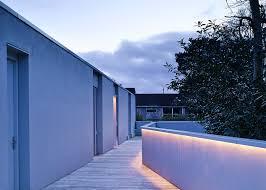 Home Design Group Northern Ireland Hall Mcknight U0027s Victoria Road House Spans A Stream
