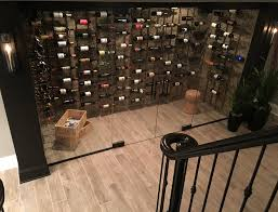 basement wine cellar modern basement wine cellar