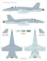 mcdonnell douglas f a 18a hornet early camouflage color profile