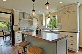 Gourmet Kitchen Islands by Shaker Painted Cabinets Kitchen Design Pictures