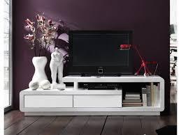 Meuble Tv Longueur Maison Et Mobilier D Intérieur Meuble Tv Design Laque Blanc Blanc 170 Cm
