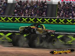 monster truck video game monster truck destruction monster trucks wiki fandom powered