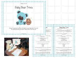 photo baby shower trivia questions image