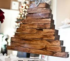wooden christmas tree easy christmas craft wooden christmas tree justdestinymag