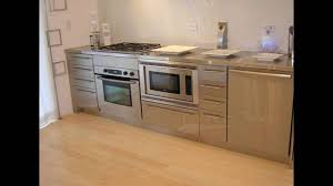 Stainless Steel Cabinets Kitchen YouTube - Kitchen steel cabinets