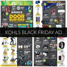 best electronic black friday deals 2016 kohls black friday ad 2017 deals store hours u0026 ad scans