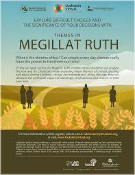 megillat esther online lookstein academy themes in megillat ruth online