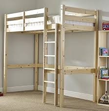 Loft Bunk Beds For Adults Loft Bunk Bed Heavy Duty 3ft Single Wooden High Sleeper Bunkbed