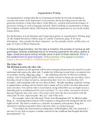 cover letter introduction of argumentative essay example example