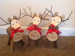 log reindeer log reindeer on meet our 1st personalised log