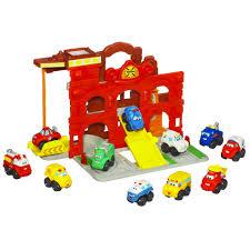 tonka fire truck toy playskool tonka chuck u0026 friends fold n go firestation toys