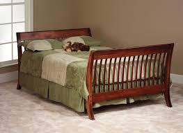 amish built wood crib organic mattress store
