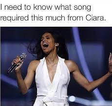 Ciara Meme - rhymes with snitch celebrity and entertainment news tamar