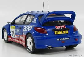 peugeot 206 rally sun star 03853 scale 1 18 peugeot 206 wrc rally montecarlo n 25