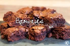 recette cuisine usa recette originale de brownies comme aux usa evasions gourmandes