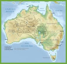 New Zealand And Australia Map Desert Map Of Australia