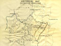 Map Pennsylvania by Frontierforts Html