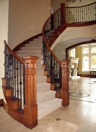wooden stairs cost staircase construction details railing designs