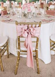 pink chair sashes 20 creative diy wedding chair ideas with satin sash