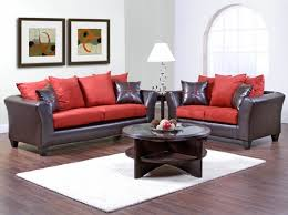 red living room set room decorating ideas black and red living